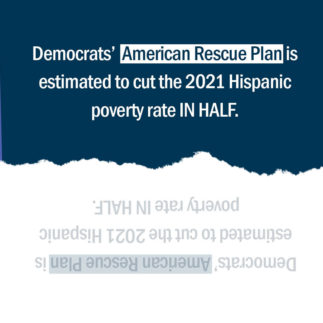 Democrats delivered real relief with the #AmericanRescuePlan that's creating jobs, crushing unemployment, and helping millions of hard-working families and businesses get back on their feet. Image